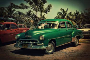 Vintage taxi by torachirila