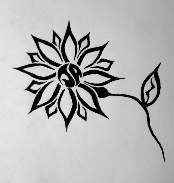 Celtic Daisy Tattoo: JA Tribal Daisy By Jwshuler On DeviantArt