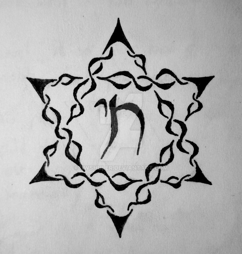 Tribal star of david by jwshuler on deviantart for Star of david tattoo designs