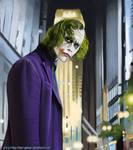 the joker-Heath Ledger