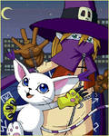 Gatomon and Wizardmon