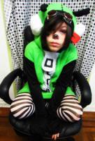 Gir cosplay Invader Zim by xBleedingheart15
