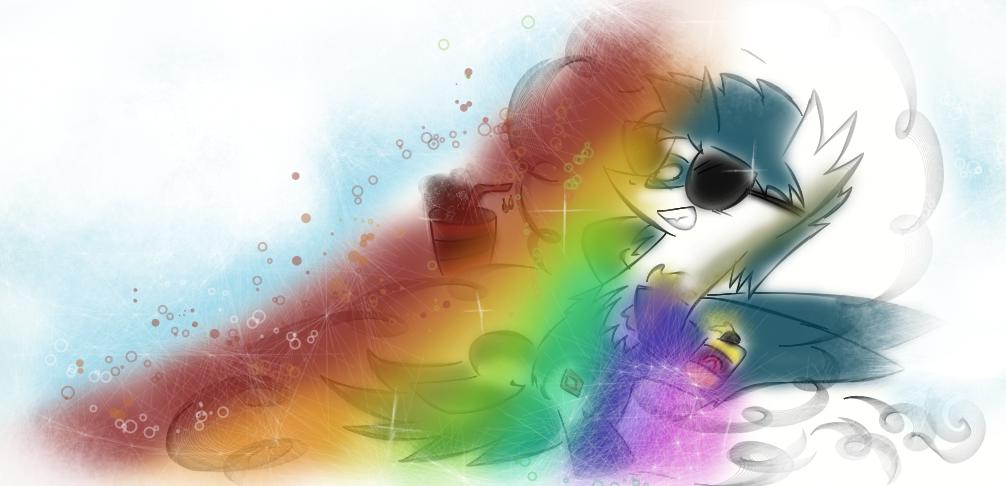 Ricky Rainbowtan Skive Off Tiiiiime by KingFlurry
