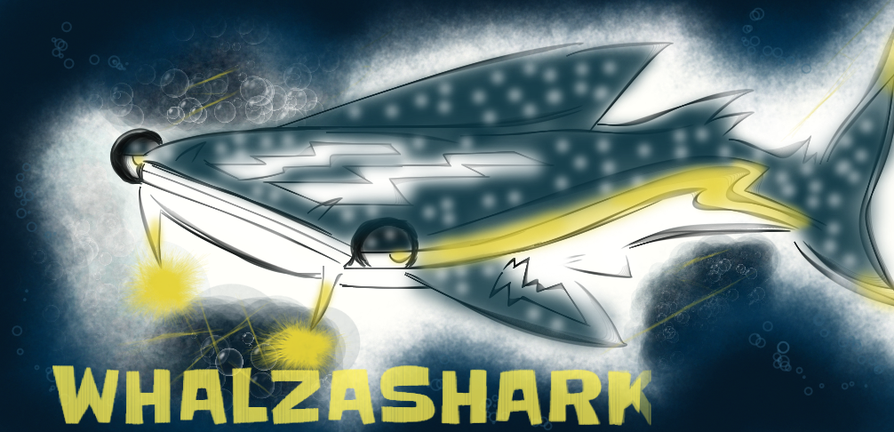 Whalzashark by KingFlurry