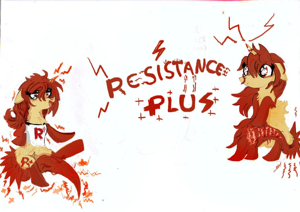 Resistance Plus 2016 by KingFlurry