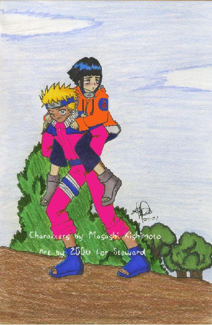 Naruto and Hinata New Outfits by tetsigawind