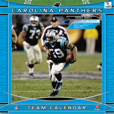 Carolina Panthers Team Calande by tetsigawind