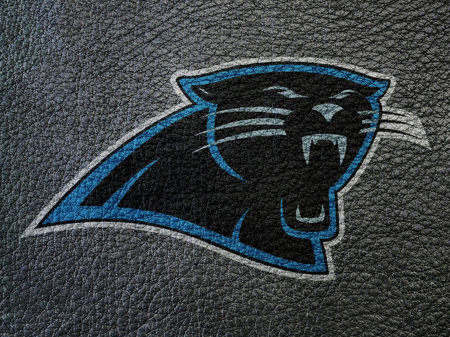 Carolina Panthers on leather by tetsigawind
