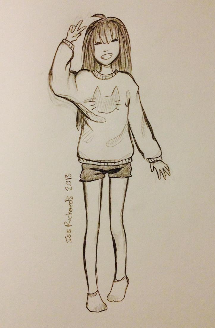 Kitty Sweater by KuzaKat