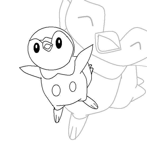 piplup cute coloring pages | Piplup Pages Coloring Pages