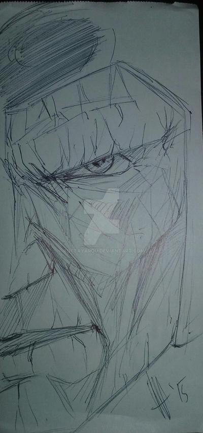 Villain doodle by KottaYarou