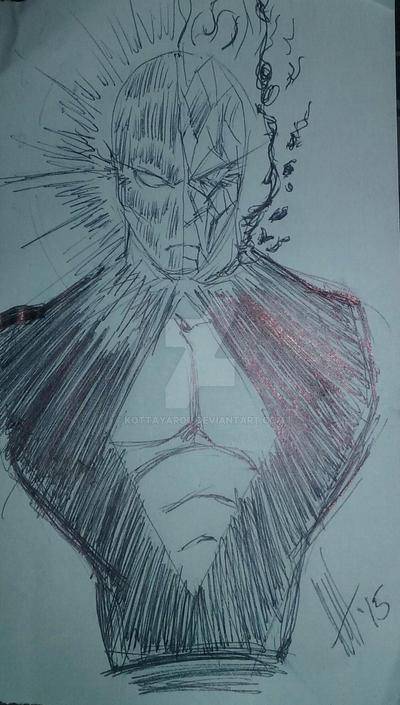 Bust doodle by KottaYarou