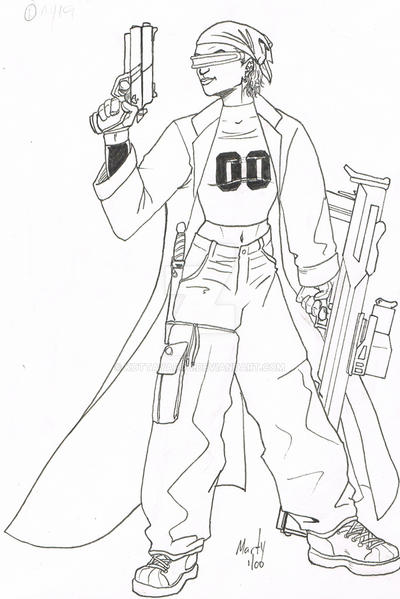 Street Samurai Apprentice by KottaYarou