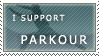 I support parkour by aCr0m-a