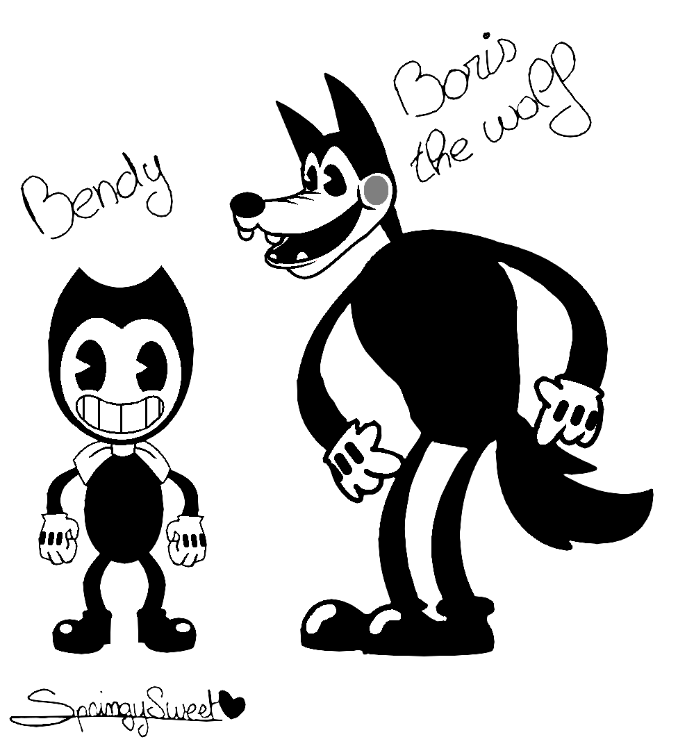 bendy and the ink machine boris the wolf