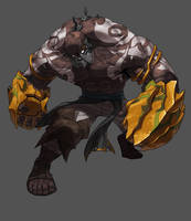 Desert boss Monster by Haje714