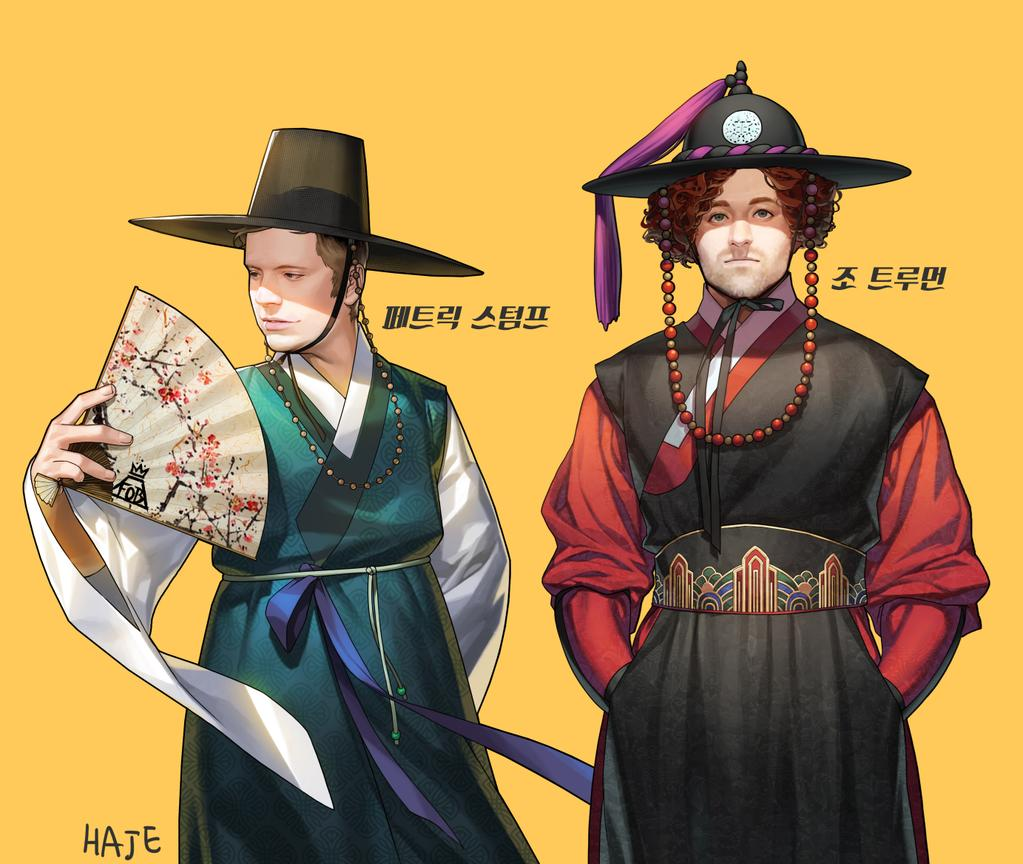 FOB Korea traditional dress by Haje714