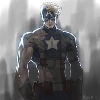 Captain America by Haje714