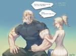 Overwatch] Reinhardt : MERCY by Haje714