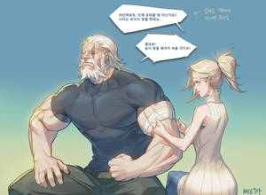 Overwatch] Reinhardt : MERCY