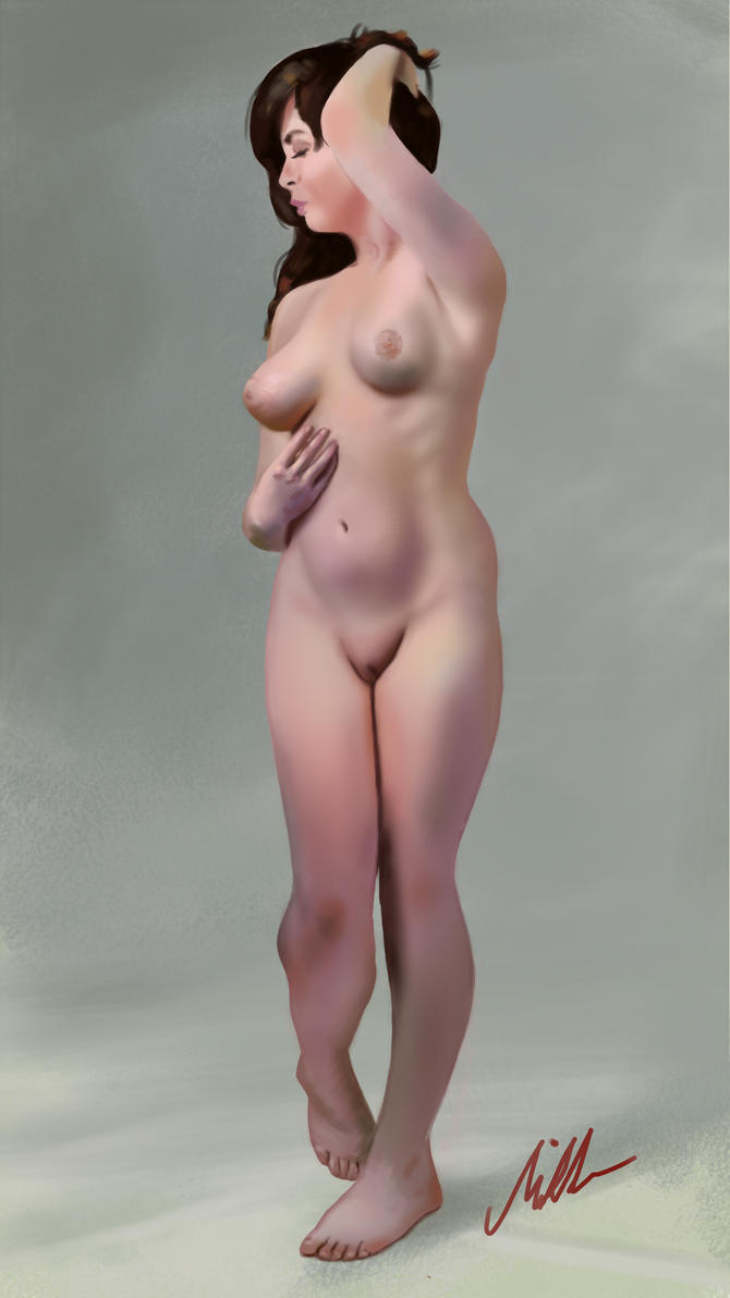 Standing Study by donmikko