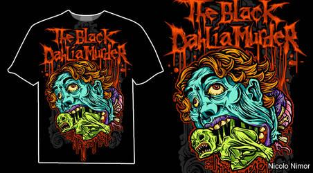THE BLACK DAHLIA MURDER by mrchugchug