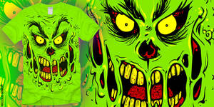 THE GRINCH ZOMBIE TEE