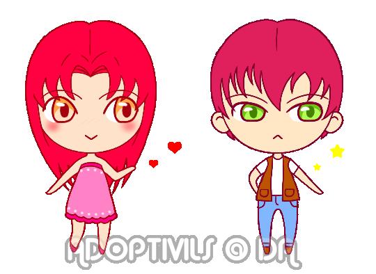 Valentine Adoptable: Notice me Senpai! [CLOSED] by Adoptivils