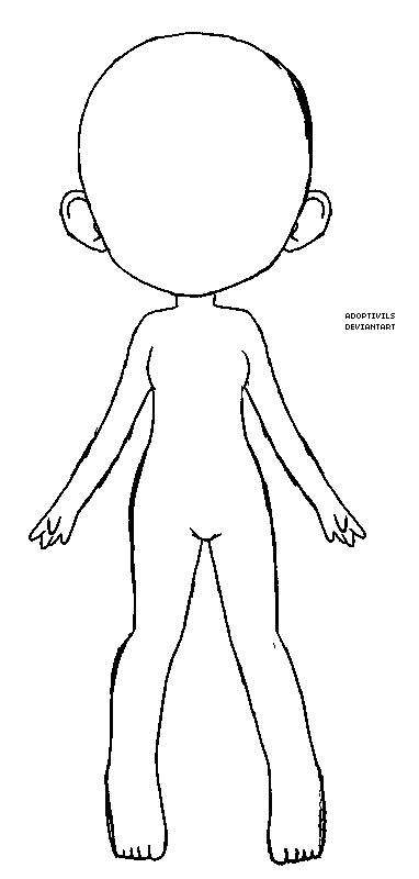 F2U Semi Chibi Base by Adoptivils