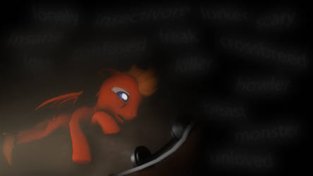 MicSet's Thoughts Of Depression by Dragon-V0942