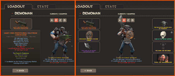 TF2: NEW Loadout for Nightmare Knight