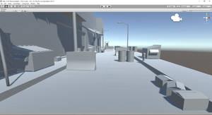 2.5D Environment design-street view