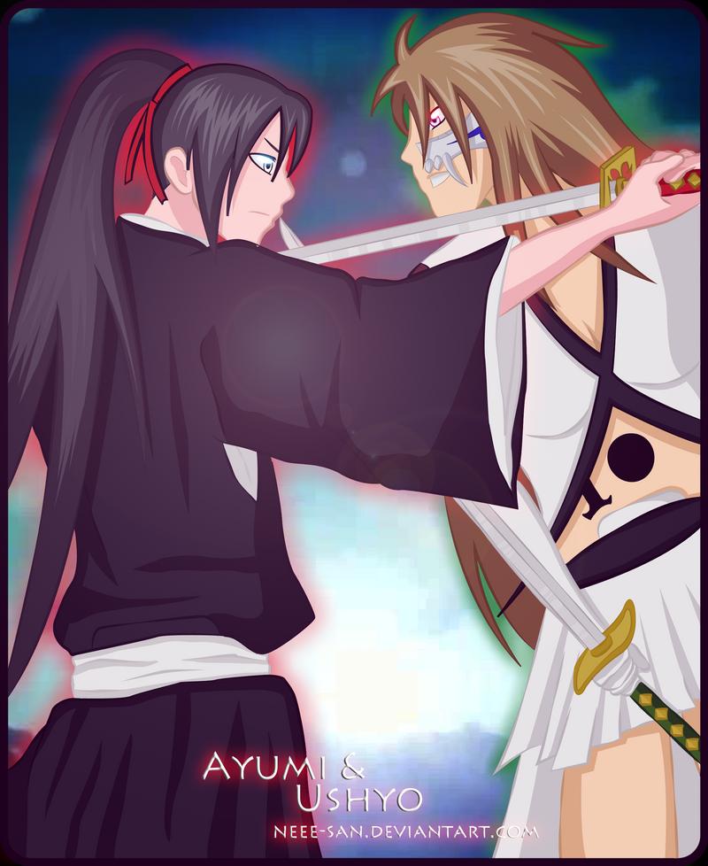 Kuchiki Ayumi Bankai By Tsukineesan On: .: OC : Meeting Beetween Two Futurs Friends :. By Neee-san