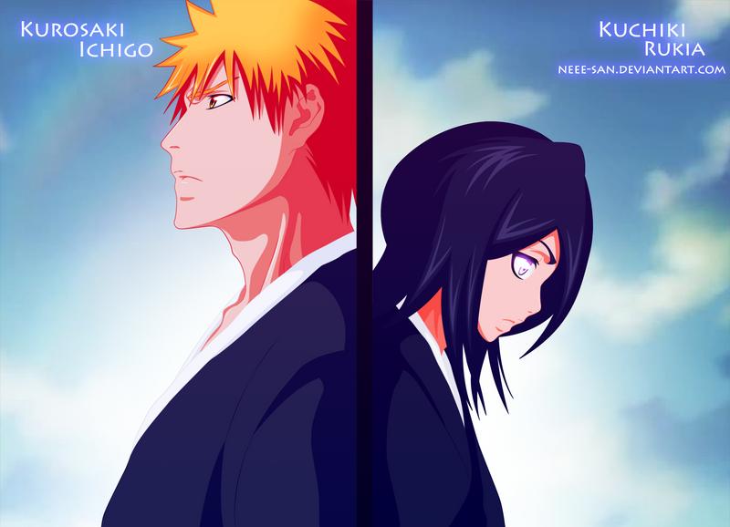 Ichigo And Rukia Baby .: Ichigo and Rukia :....