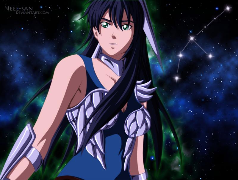 .: Saint Seiya OC - Crane no Selena :. by Tsukineesan