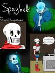Undertale comic: Spaghetti pg 1