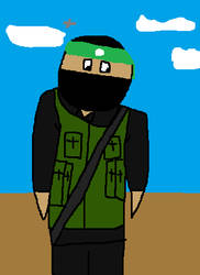 BBBFF Hamas Fighter