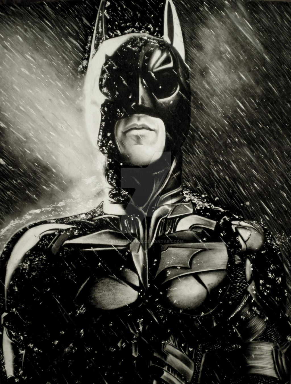 The Dark Knight by DaveSkate92