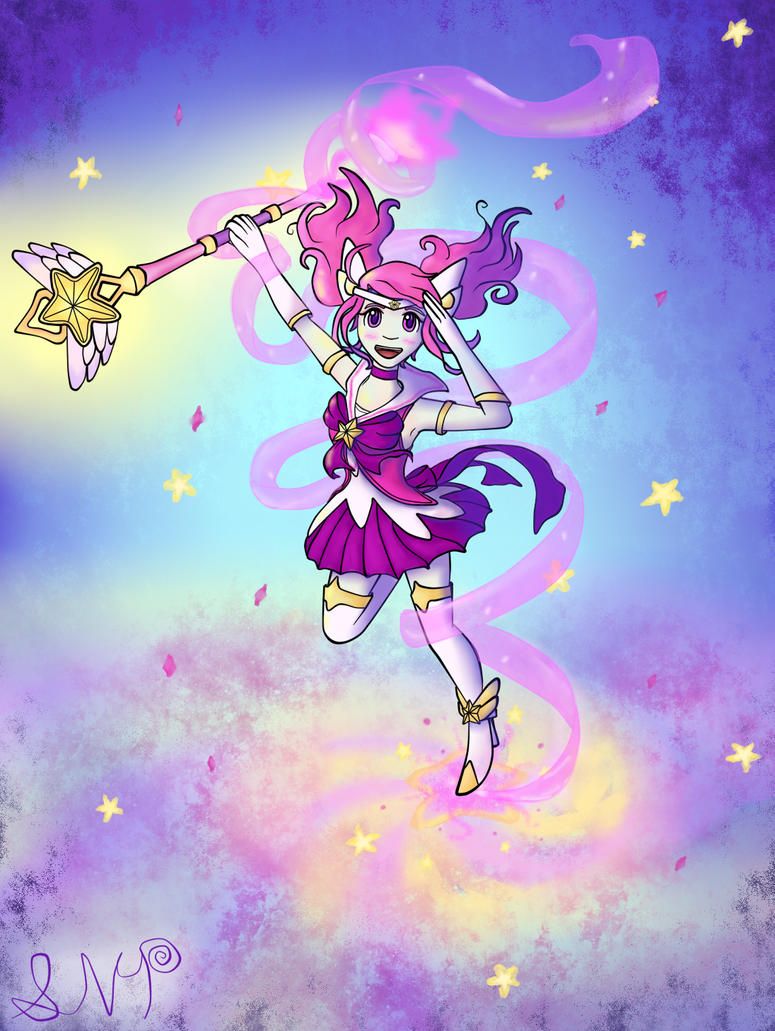 Star Guardian Lux by 0nYeen