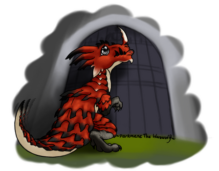 Chibi Monster Hunter- Lao Shan by DarkmaneTheWerewolf