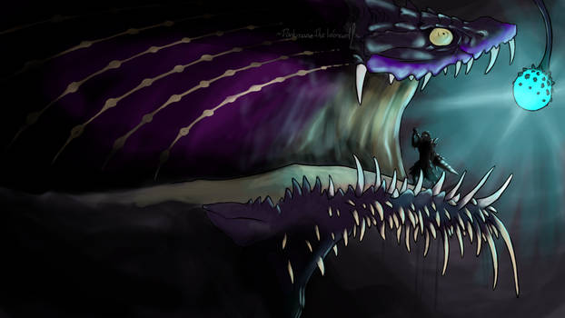 Creepy Monster Hunter - Gobul by DarkmaneTheWerewolf