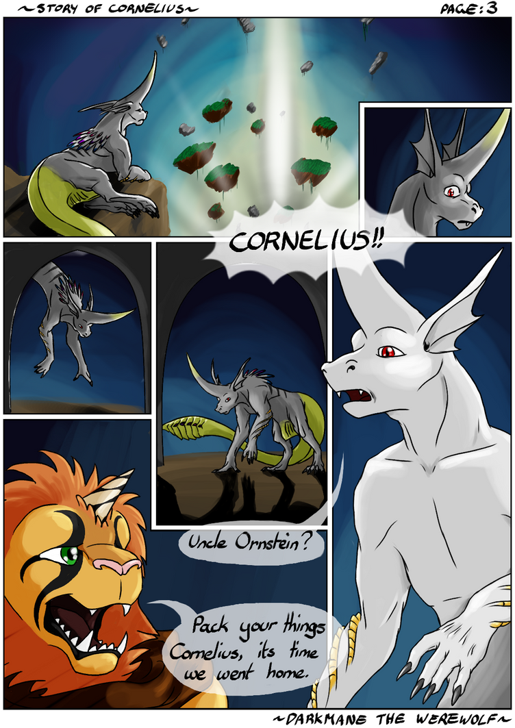 Story of Cornelius - Chapter 1: Page 03 by DarkmaneTheWerewolf