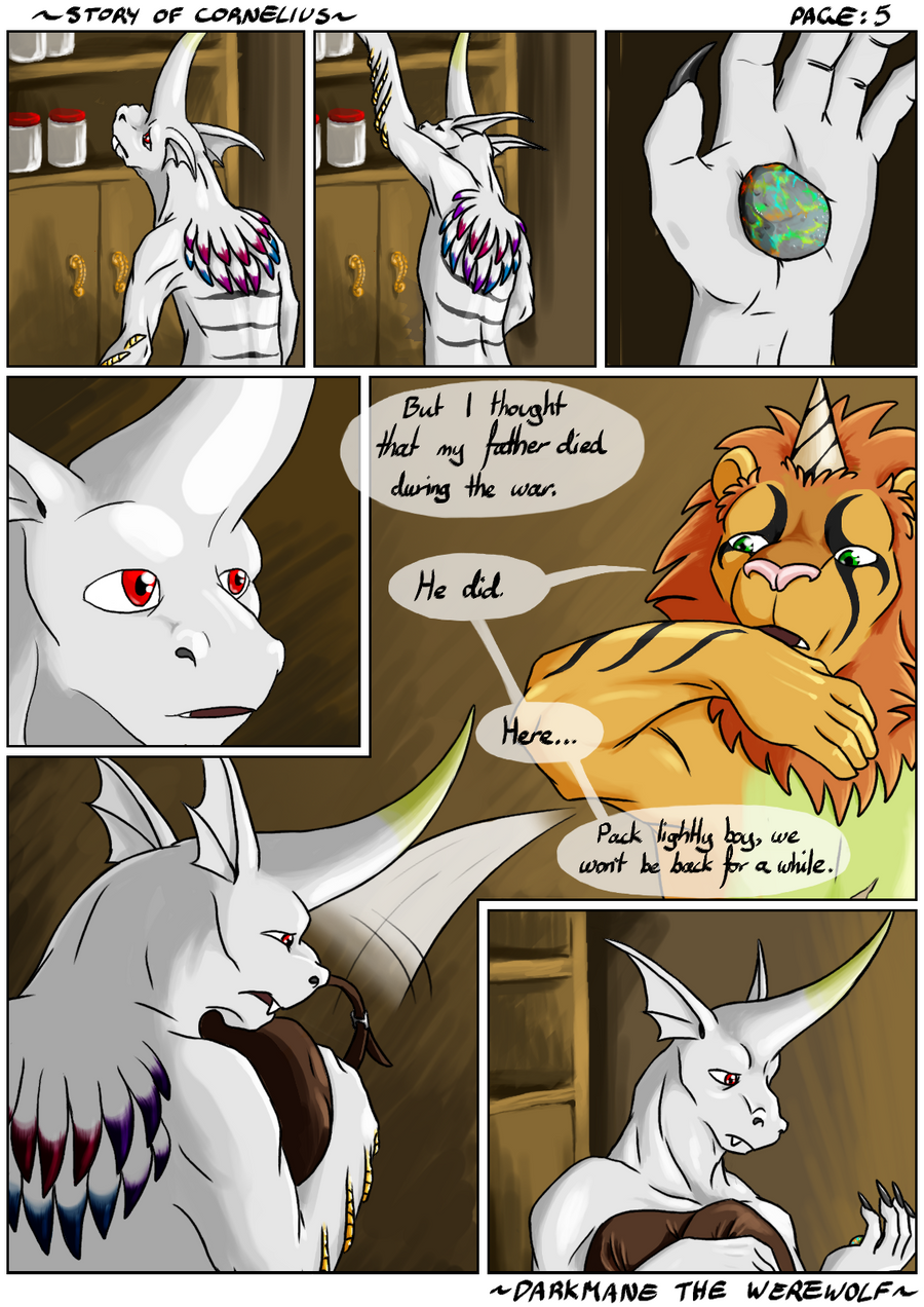 Story of Cornelius - Chapter 1: Page 05 by DarkmaneTheWerewolf