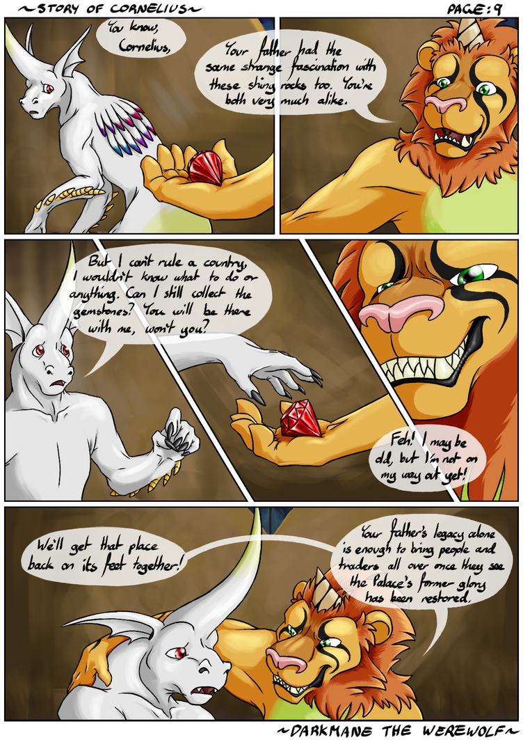 Story of Cornelius - Chapter 1: Page 09 by DarkmaneTheWerewolf