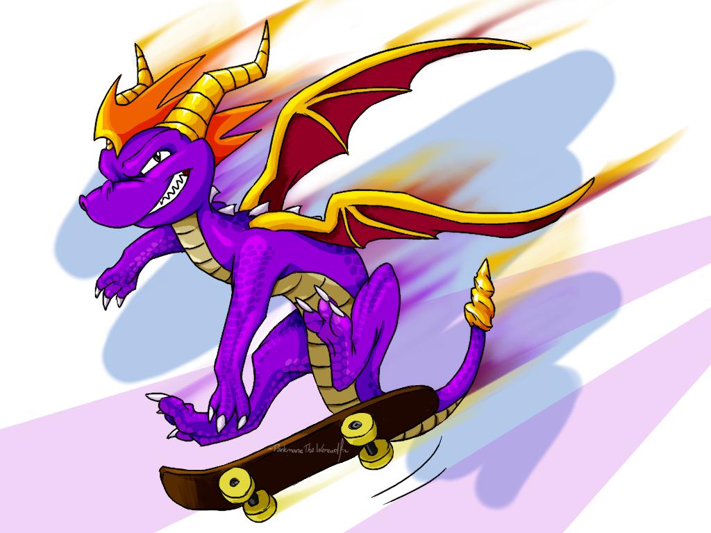 spyro the dragon by darkmanethewerewolf on deviantart