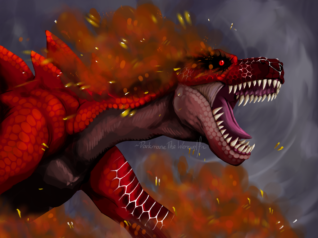 M Tigrex Red Tigrex by