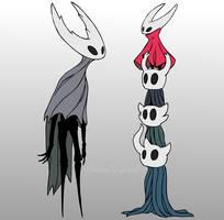 Hollow Knight - Tall Vessels by DarkmaneTheWerewolf