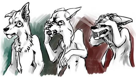Werewolf Expressions 1