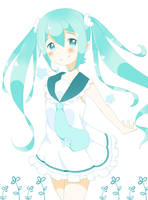 Hatsune Miku by nishinekochan