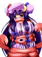 Patchouli tentacle by takukuroneko